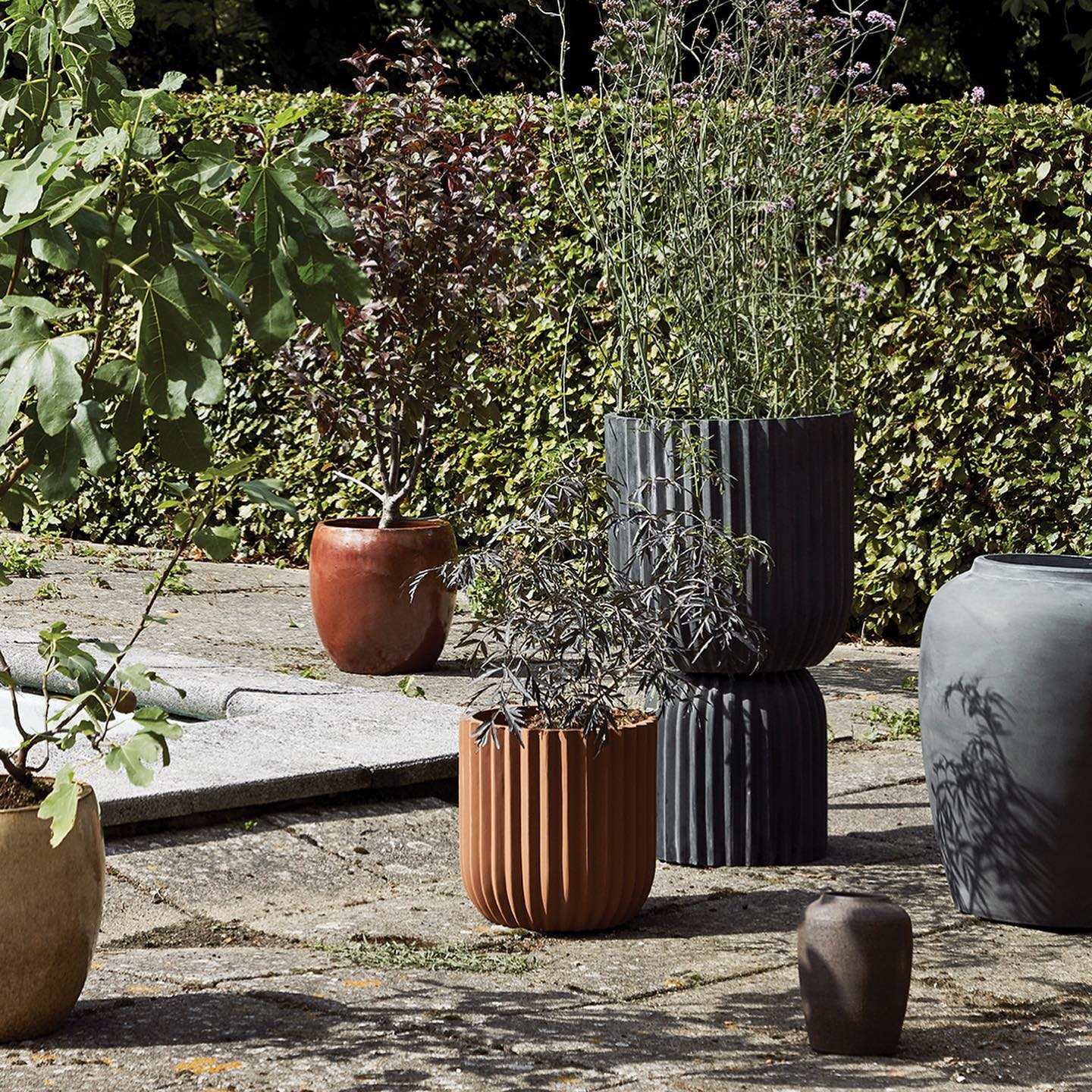 Have you started your preparations for a summer garden yet? You will find a wide range of flower pots in our new season collection like these concrete finish planters to complement our RILLO tables posted yesterday. . . #planters #concretepots #pots #garden #summergarden #plants